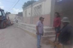 Continúan sin descanso los trabajos de reconstrucción en Ixtepec (2)