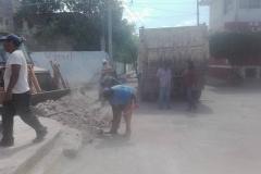 Continúan sin descanso los trabajos de reconstrucción en Ixtepec (3)