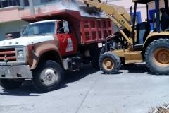 Continúan sin descanso los trabajos de reconstrucción en Ixtepec (5)