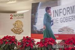 Rinde rosa nidia su segundo informe de gobierno en Salina Cruz 10