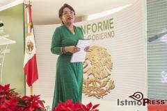 Rinde rosa nidia su segundo informe de gobierno en Salina Cruz 11