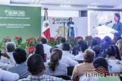 Rinde rosa nidia su segundo informe de gobierno en Salina Cruz 12