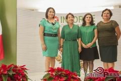 Rinde rosa nidia su segundo informe de gobierno en Salina Cruz 3