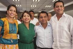 Rinde rosa nidia su segundo informe de gobierno en Salina Cruz 6