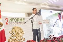 Rinde rosa nidia su segundo informe de gobierno en Salina Cruz 9