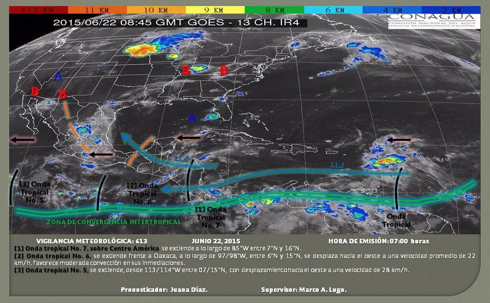 Advierte PC continuidad de lluvias en el istmo (3)