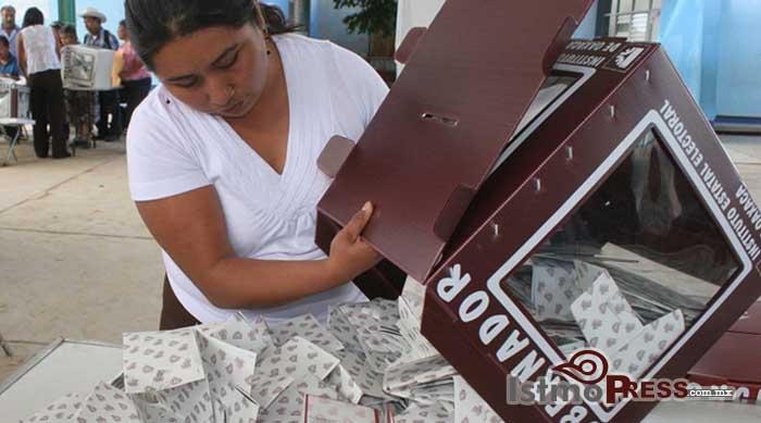 Presenta OPLE- IEEPCO calendario para proceso electoral en Oaxaca