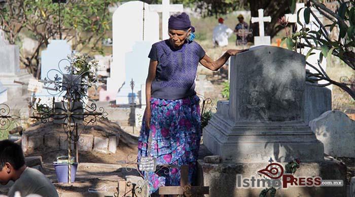 dengue en cementerios istmo oaxaca