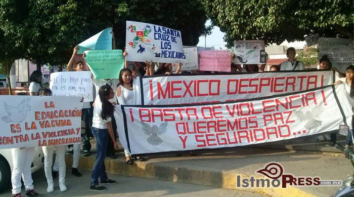 marcha paz ixtepec oaxaca
