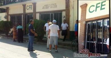 Amas de casa exigen tarifas justas a la CFE en Zanatepec