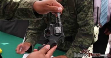 Inicia SEDENA canje de armas en el istmo