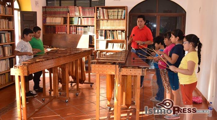 Inicia primer ciclo de talleres en la Casa de la Cultura de Ixtepec 2