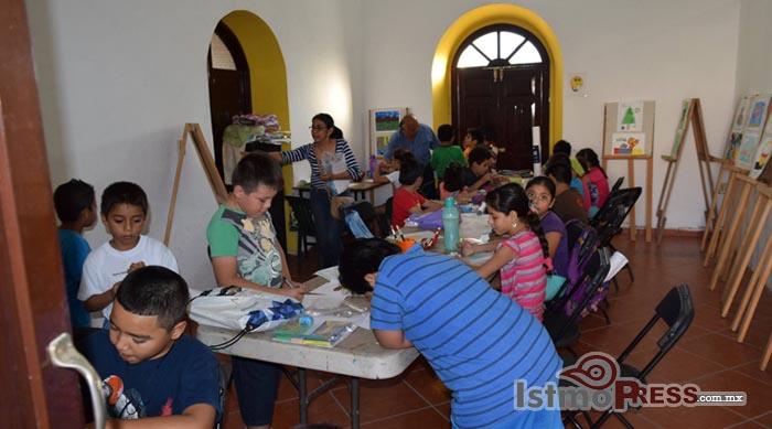 Inicia primer ciclo de talleres en la Casa de la Cultura de Ixtepec