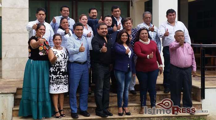 Priistas de Tehuantepec se unen al proyecto de Alejandro Murat