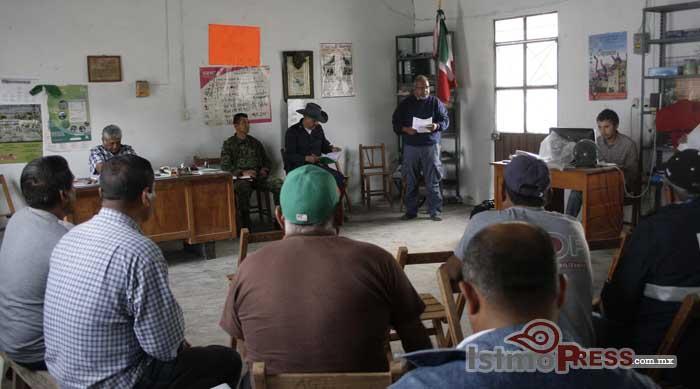 Convocan a ganaderos para integrar Defensas Rurales en Ixtepec