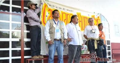 Llevan ayuda humanitaria a San Francisco La Paz