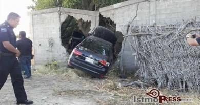 Seis lesionados deja accidente automovilistico en Tehuantepec