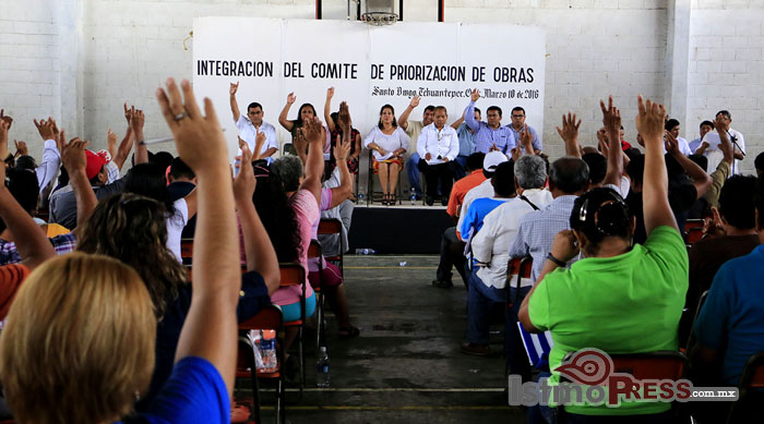 Instalan Consejo de Desarrollo Social Municipal 2016 en Tehuantepec