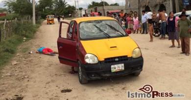 Matan a pareja a balazos en Juchitan