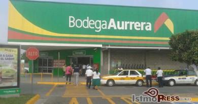 Abre sus puertas nuevamente Bodega Aurrera en Juchitan