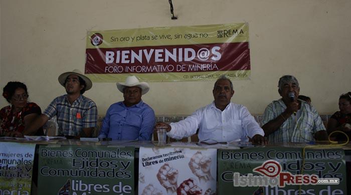 Declaran a Ixtepec como territorio libre de minería 5