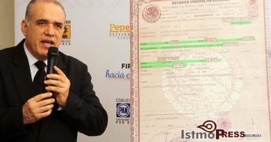 Demuestra Coalición CREO ilegalidad  en candidatura de Alejandro Murat