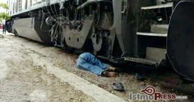 Hombre es despedazado por tren en Juchitan