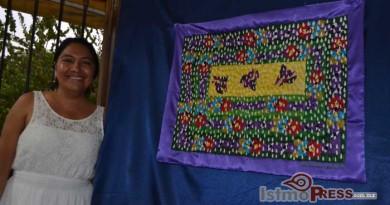 Natividad Amador, la mujer que hace  arte con los hilos