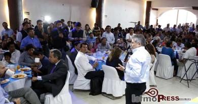 """Presenta Pepe Toño Estefan Garfias programas  """"Socio Oaxaca"""" y """"Tequio Nacional"""""""