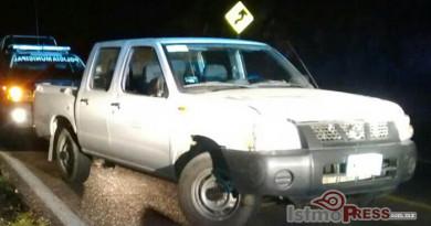 Recuperan camioneta robada en Salina Cruz