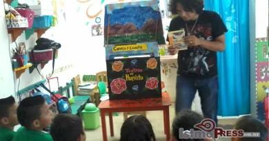 Teatro el Huipilito para fortalecer el zapoteco y la conciencia ecológica