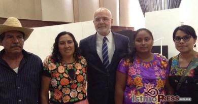 Denuncia defensora zapoteca violaciones al convenio 169 de la OIT