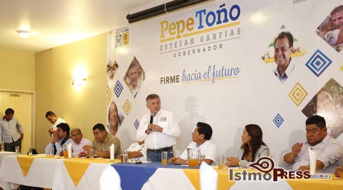 Promover el deporte y garantizar una buena nutrición,   compromiso de Pepe Toño Estefan Garfias