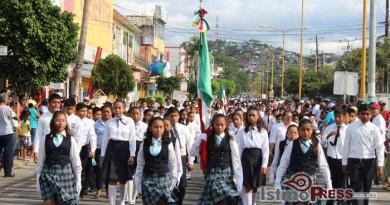 Salina cruz conmemora el 154 aniversario de la batalla de puebla 2