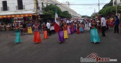 onmemoran batalla del 5 de mayo en Juchitán