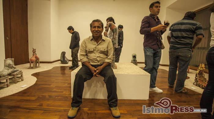 Génesis de Víctor Cha'ca llega al Museo de Pintores Oaxaqueños