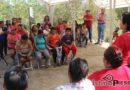 Rosa Nidia entrega obra de electrificación en la colonia Lomas del Pedregal