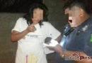 Detiene policia municipal a pareja por quemar a menor