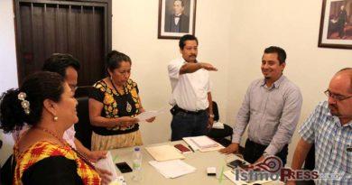 Designan a nuevo director de obras públicas en Juchitán
