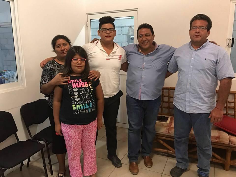 Felicita Félix Serrano a joven deportista ixtepecano (1)