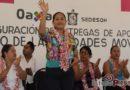 Acerca Yesenia Nolasco Ramírez servicios de Unidades Móviles para beneficio de Tehuantepec