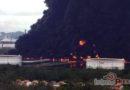 Explota tanque de crudo en la refinería de Salina Cruz, Oaxaca