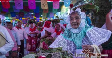 Celebran a Santiago Apóstol en San Blas Atempa