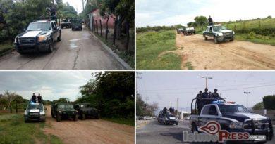 Activan Ayuntamiento y 46 zona militar recorridos de seguridad en Ixtepec