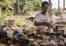 Artesanos de Huaraches reactivan taller a pesar de vivir damnificados
