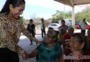 Más de 300 Adultos Mayores de Agencias de la Costa de Tehuantepec reciben apoyos alimentarios