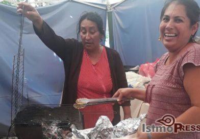 Cocina comunitaria en Unión Hidalgo donde la vida florece después del terremoto