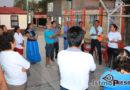 """""""Tenemos una presidenta que está cumpliendo con su palabra"""", vecino del Fraccionamiento Infonavit Sandunga de Tehuantepec"""