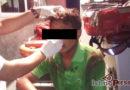 Capturan a presunto asaltante en la colonia Juárez de Tehuantepec