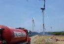 Se incendia aerogenerador eólico en el Istmo